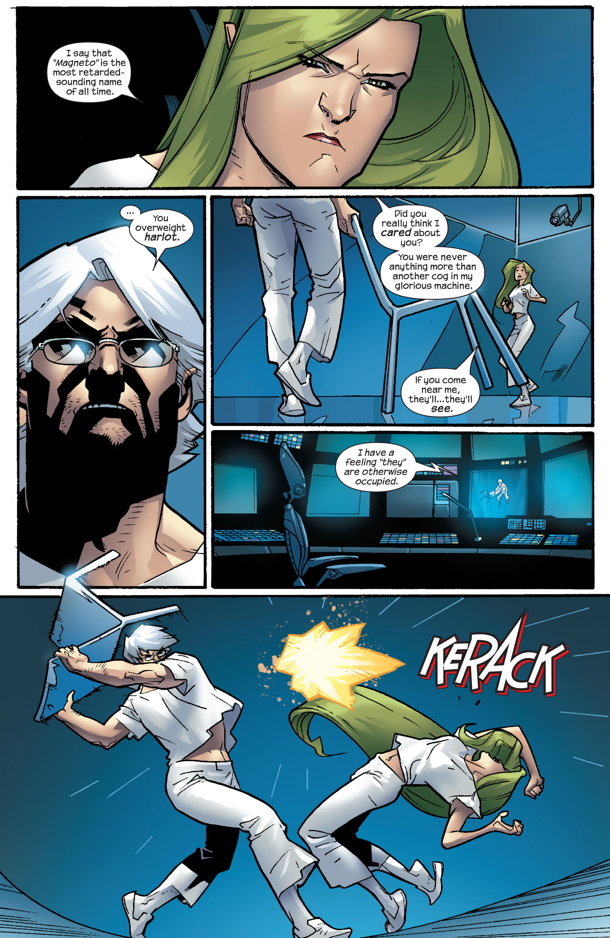 Read online Ultimate X-Men comic -  Issue #64 - 9