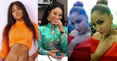 Tonto Dikeh offers Gifty N1million for slamming Lillian Afegbai over surgery
