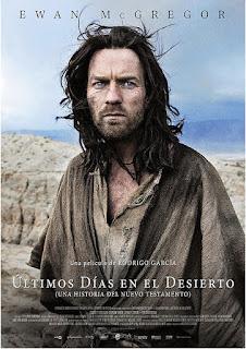 Cartel oficial español: Últimos días en el desierto (2015)
