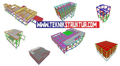 Jasa Hitung Struktur Beton I Perhitungan Struktur Beton