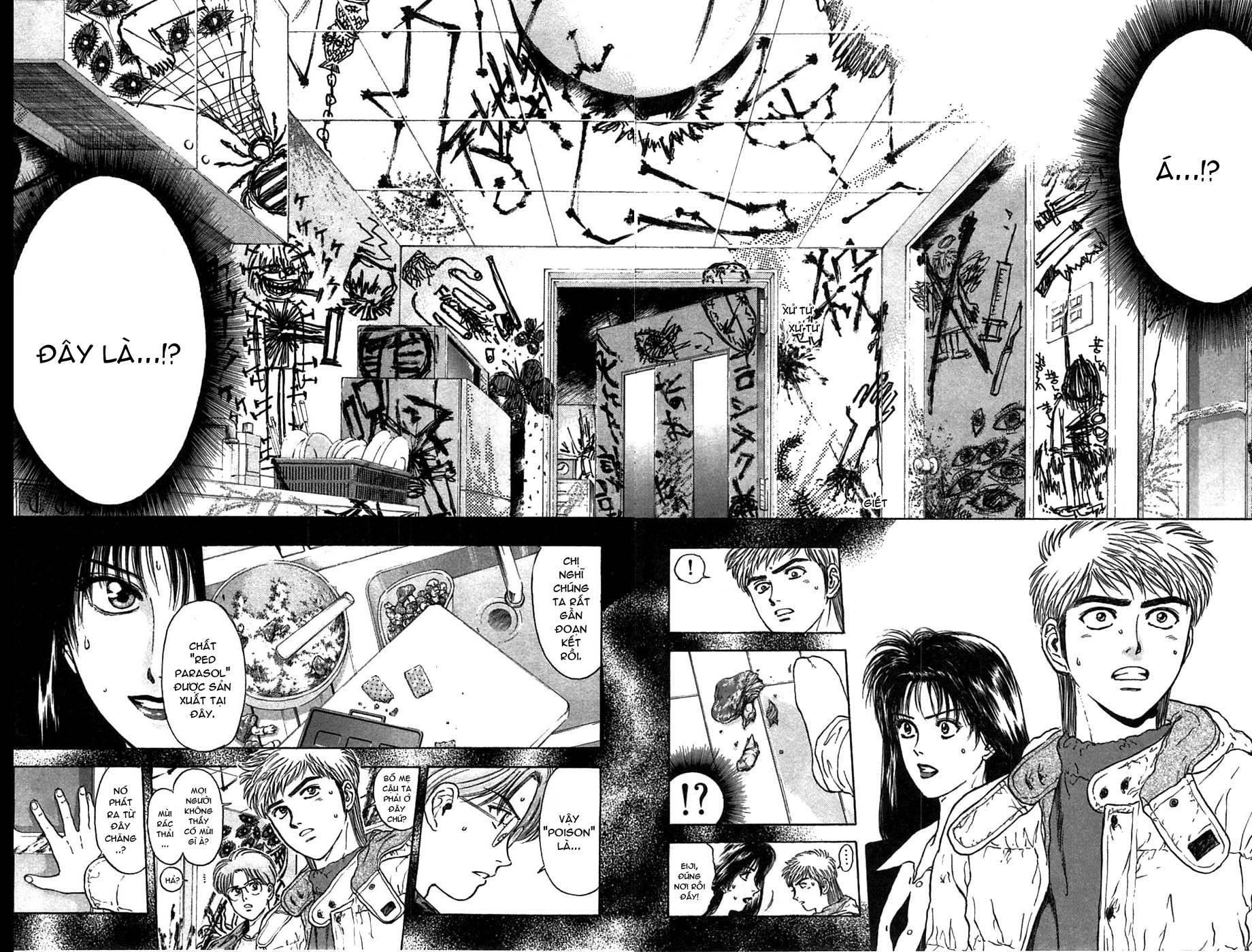 Psychometrer Eiji chapter 40 trang 9