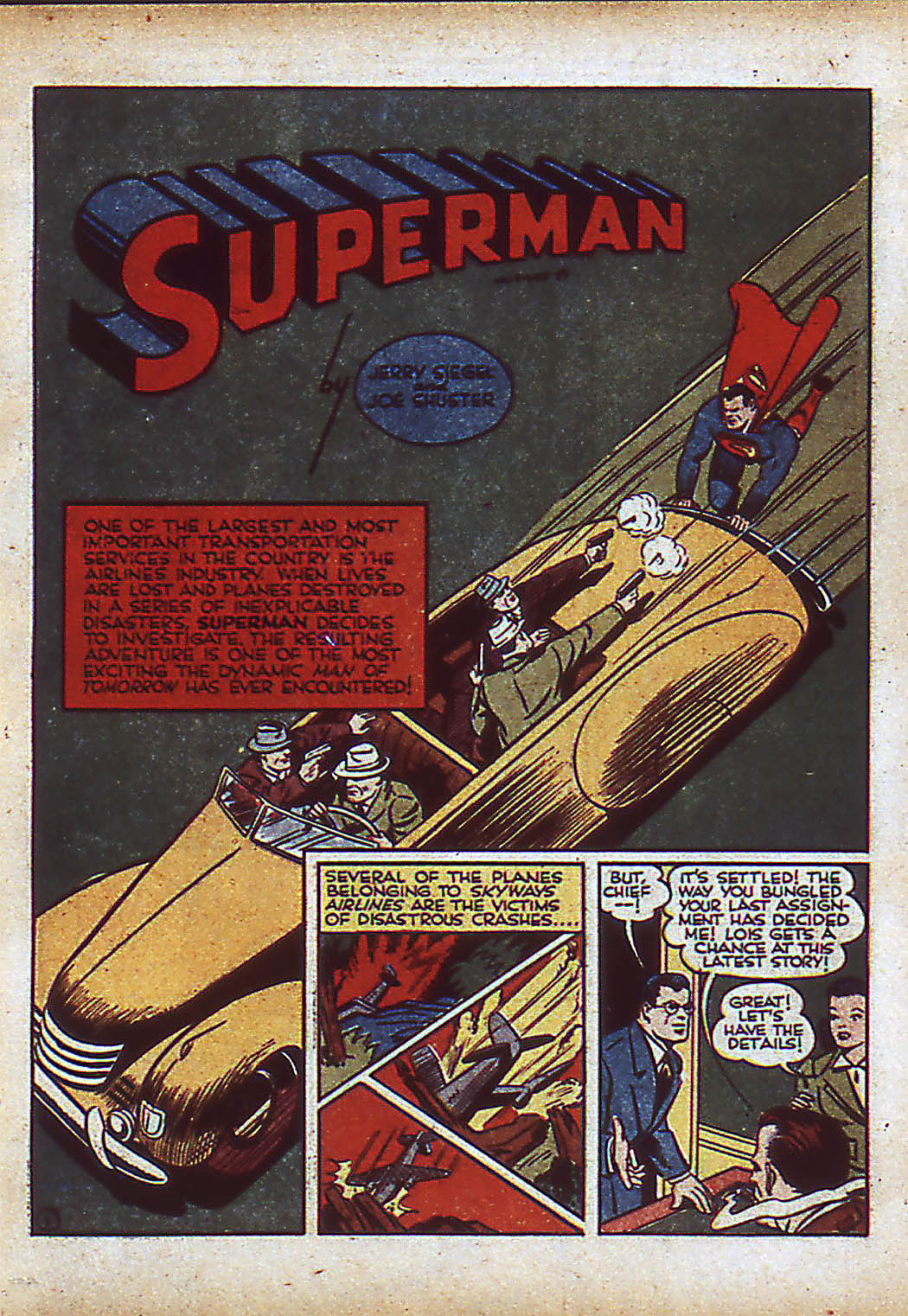 Read online Action Comics (1938) comic -  Issue #43 - 3