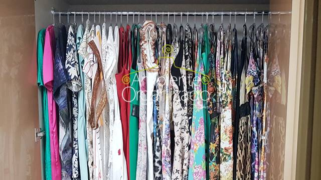 Vestidos organizados