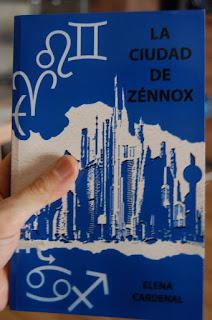 Libro la ciudad de Zénnox de Elena Cardenal
