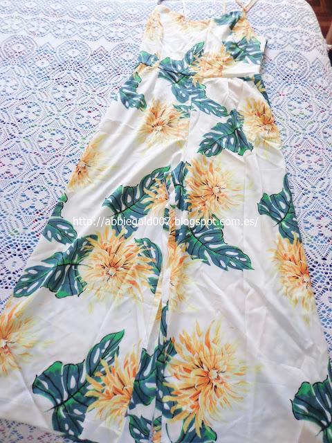Floral Print Spaghetti Strap Jumpsuit