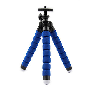 KT-600 Flexible Octopus Tripod Small Blue