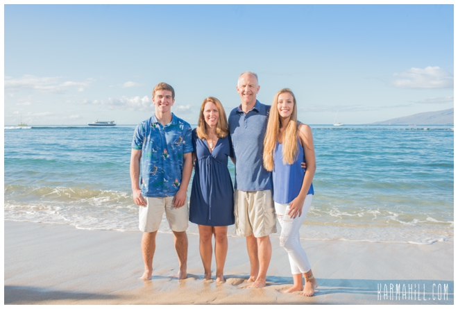 Check Out Our Last Maui Family Beach Portraits With The Peters