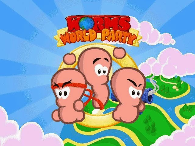 Download Game Worm World Party PC Full Version Gratis