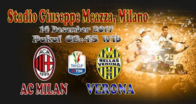 JUDI BOLA DAN CASINO ONLINE - PREDIKSI SKOR COPPA ITALIA AC MILAN VS VERONA 14 DESEMBER 2017