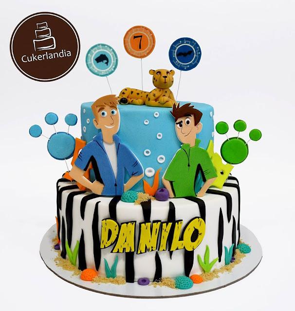 Wild Kratts Cake Pan