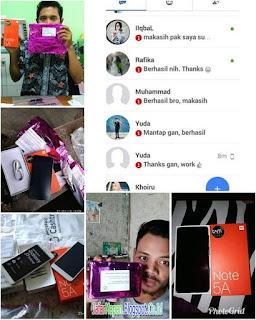 Hp samsung gratis, Hp Xiaomi garatis, Hp Oppo, vivo