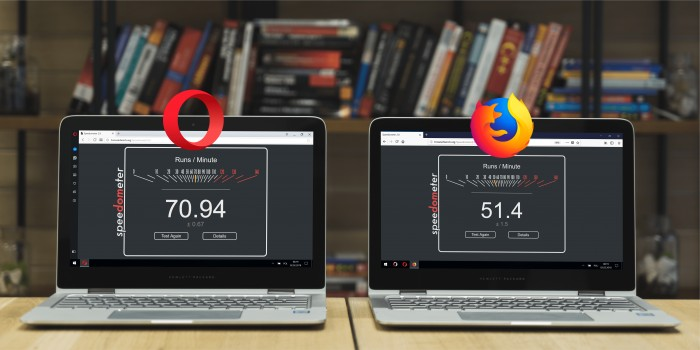 Opera vs Firefox - El Blog de HiiARA