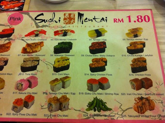 Sushi Mentai @Sri Petaling, KL