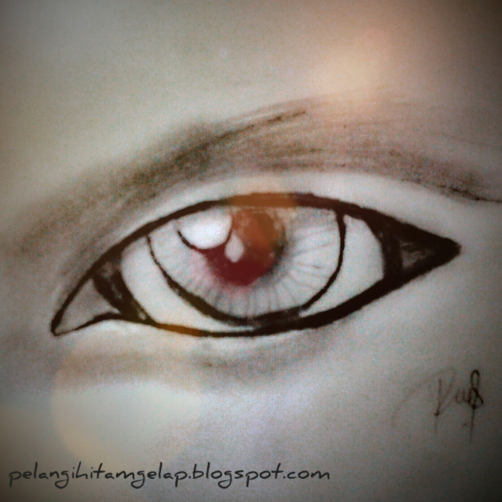 Rayyan Ray Sketsa Mata Eye Sketch