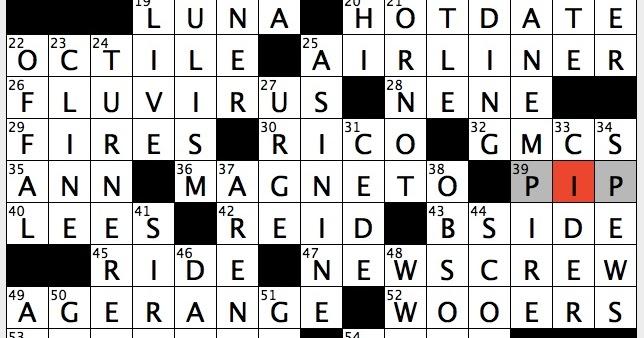 not like a sty crossword