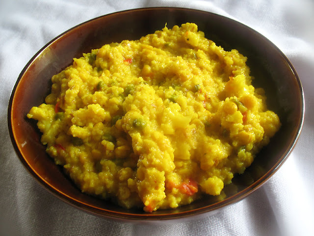 Chana Dal and Cauliflower Kitchari