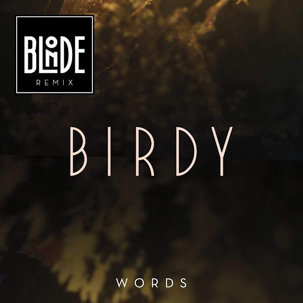 Birdy - Words (Blonde Remix) - Single Cover