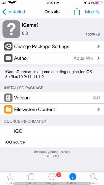 how to get igameguardian ios 9