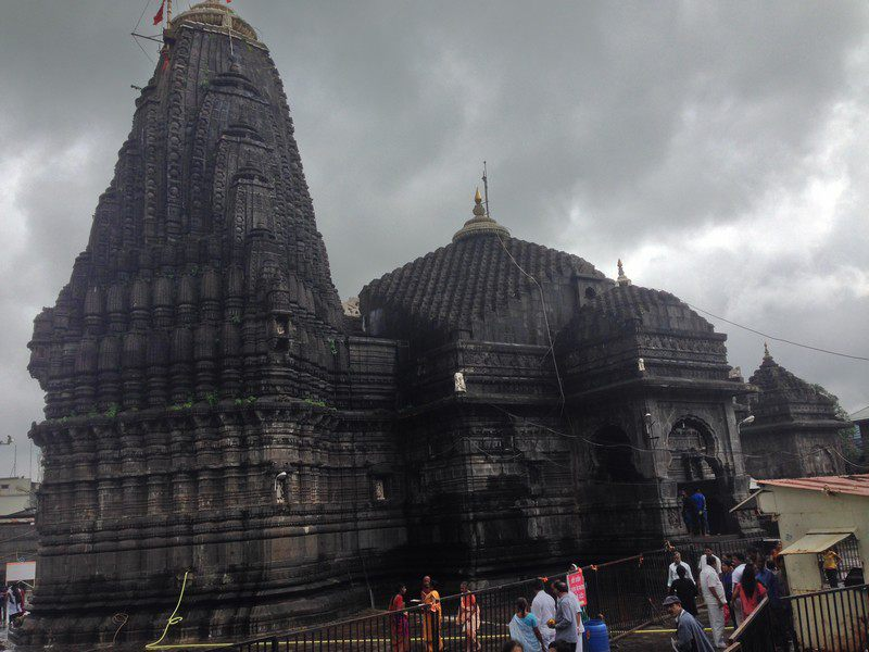 Jyotirlings of India  - Trimbakeshwar Temple - Side View