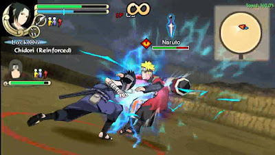 Naruto Ultimate Ninja Impact PPSSPP ISO High Compress