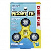 Transformers Bumblebee Fidget Spinner Fidget Its Tri-Spinner Packaging