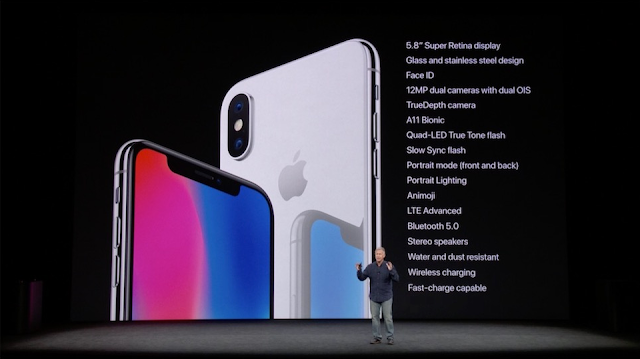iPhone 8 iPhone X specifications