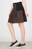 BerryBenka Calic Biker Skirt ANDHIMIND