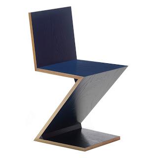 Las sillas de gerrit rietveld arquitectura y dise o for Silla zig zag medidas