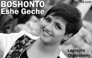 Boshonto Eshe Geche Lyrics - Lagnajita Chakraborty - Chotushkone