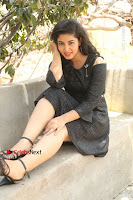 Telugu Actress Pavani Latest Pos in Black Short Dress at Smile Pictures Production No 1 Movie Opening  0131.JPG