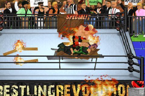 Wrestling Revolution MOD APK Terbaru