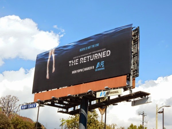 The Returned US TV remake billboard