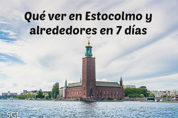 Que ver en Estocolmo y alrededores en 7 días
