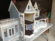 Little Darlings Dollhouses Custom Finished Harborside Mansion