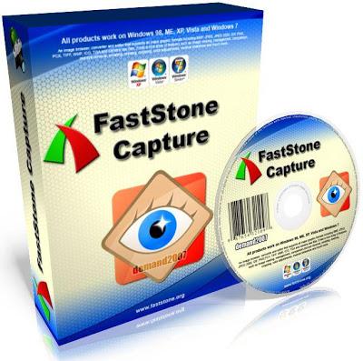 تحميل برنامج FastStone Capture لتصوير الشاشة فيديو النسخه الاصليه كامل ومجانى