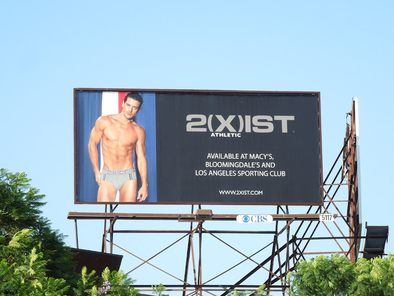 2Xist Athletic mens underwear billboard