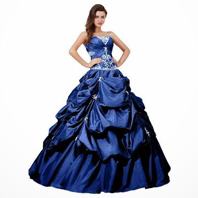 Hot Evening Dresses: Cheap amazing royal blue plus size ... - photo#14