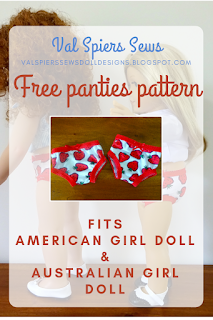 Free panties pattern for you doll