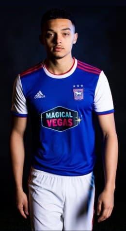 イプスウィッチ・タウンFC 2018-19 ユニフォーム-ホーム
