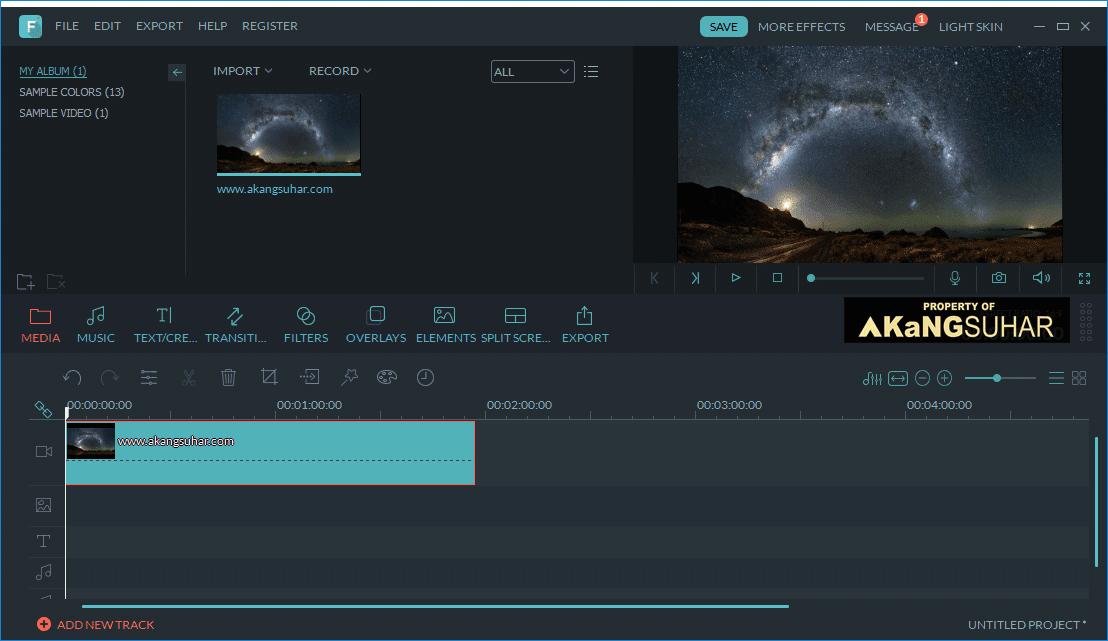 Wondershare Filmora 8.0.0.12 Full Version Terbaru