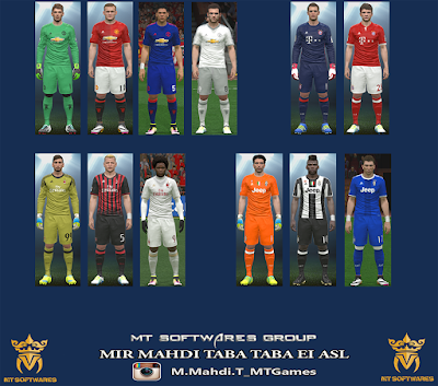 PES 2016 New Kit 2016-17 vol. 1.1 by MT Games 1991