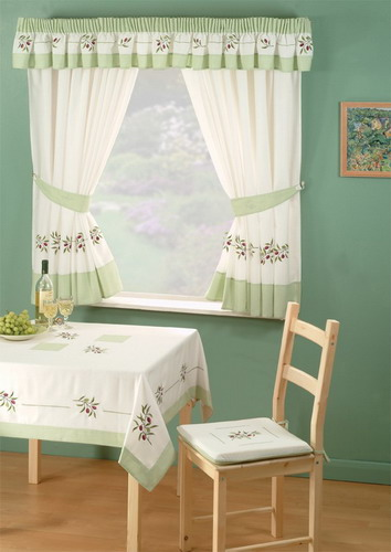 dining room curtain designs | Unique Ideas on Small Window Curtains to Help You Out In ...