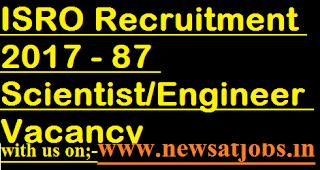 ISRO-jobs-87-Scientist-Engineer-Vacancy