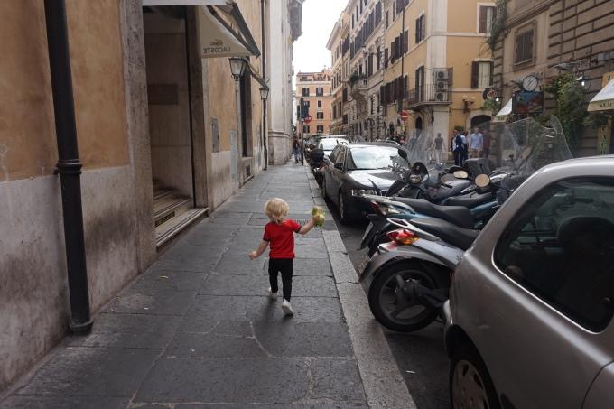 Rooma lasten kanssa