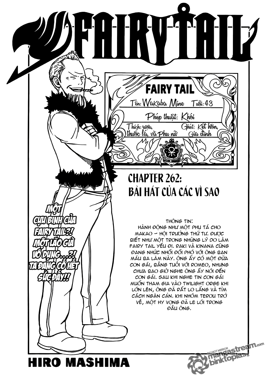 Fairy Tail chap 262 trang 1