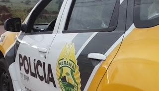 Nova Tebas: Homem desfere golpe de foice em policial e é morto com tiro