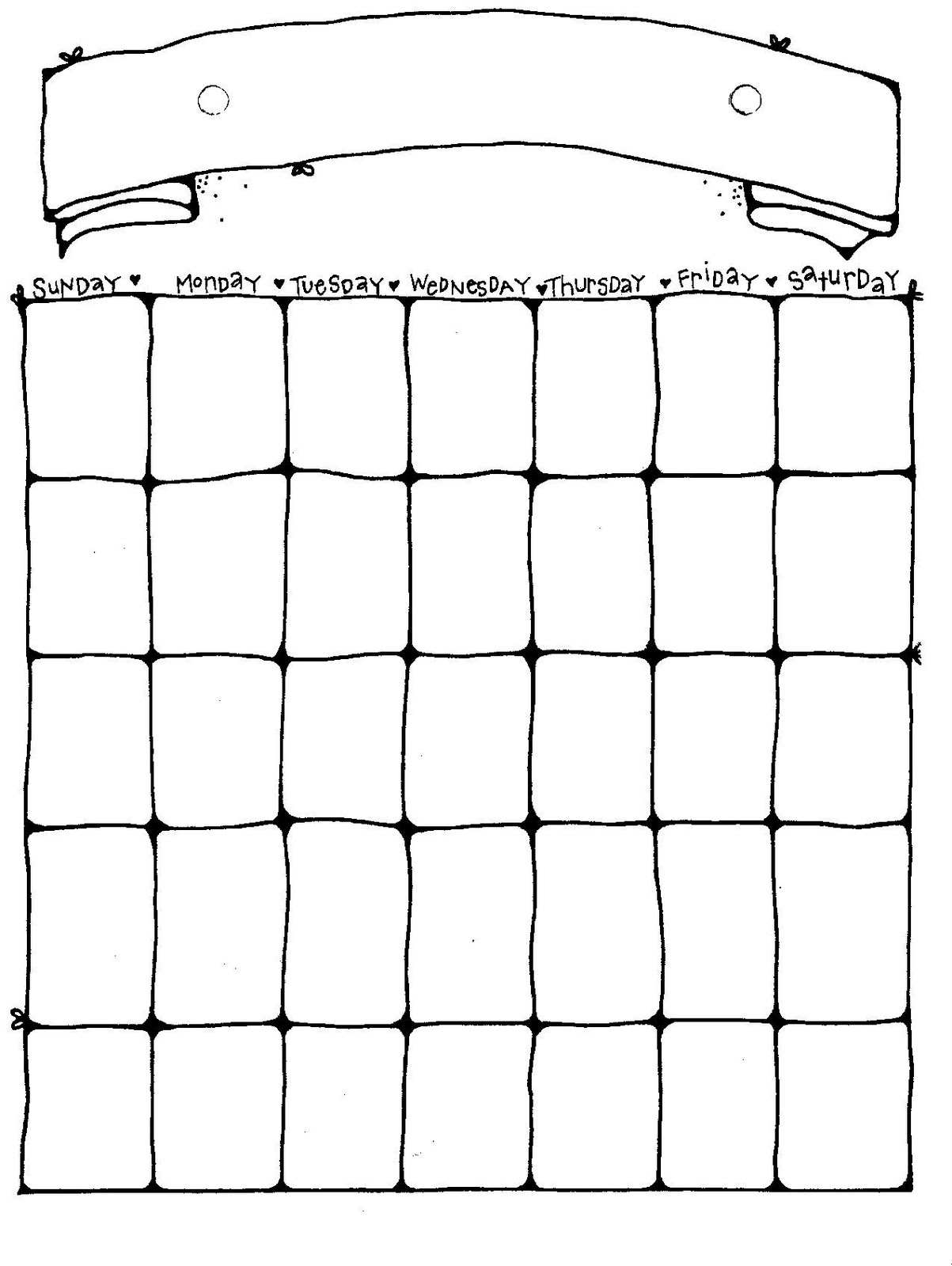 2 page weekly calendar template - connie 39 s file cabinet monthly blank calendar pages for a year