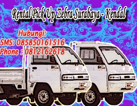 Rental Pick Up Zebra Surabaya - Kendal