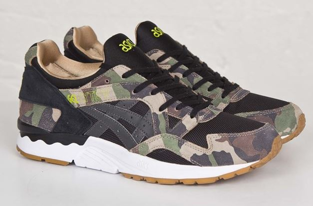 THE SNEAKER ADDICT  atmos x ASICS Gel-Lyte V Camo Shoe Available ... 092a9efc79b4