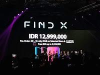 OPPO Find X resmi mendarat di Indonesia, ini harga  dan keunggulannya